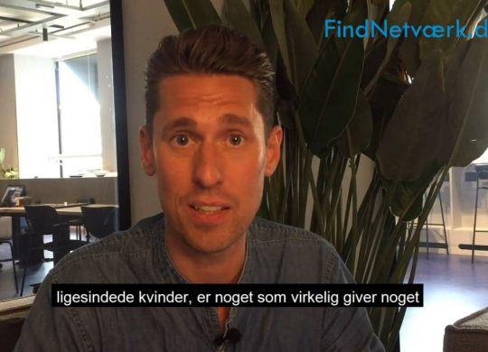 Interview af Patrick Nielsen fra Findnetværk fortæller om kvindenetværk